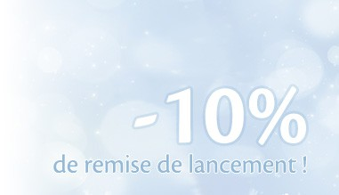-10% sur la boutique !