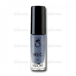 Vernis à Ongles W.I.C. Bleu « BOGOTA » Pailleté Opaque n°121 by Herôme - Flacon 7ml