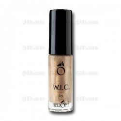 Vernis à Ongles W.I.C. Doré « FLORENCE » Pailleté Transparent n°127 by Herôme - Flacon 7ml