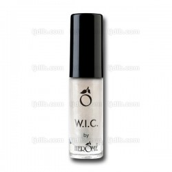 Vernis à Ongles W.I.C. Blanc « MOSCOW » Pailleté Transparent n°50 by Herôme - Flacon 7ml