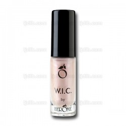 Vernis à Ongles W.I.C. Blanc « NAPOLI » Nacré Pailleté Transparent n°57 by Herôme - Flacon 7ml