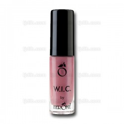 Vernis à Ongles W.I.C. Nude « GUATEMALA CITY » Pailleté Transparent n°67 by Herôme - Flacon 7ml
